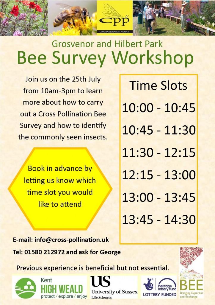 Bee Survey workshop A5